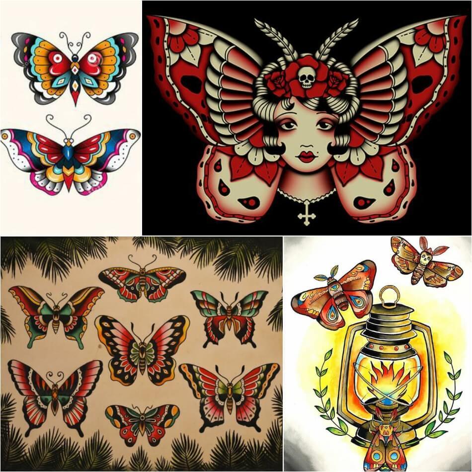 Тату бабочка - Эскизы тату бабочка - Эскизы татуировка бабочка