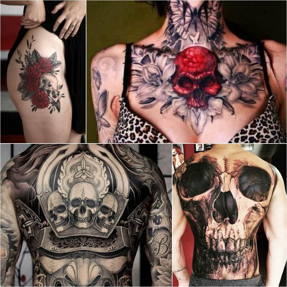 Тату череп - Значение татуировки череп - Татуировка череп