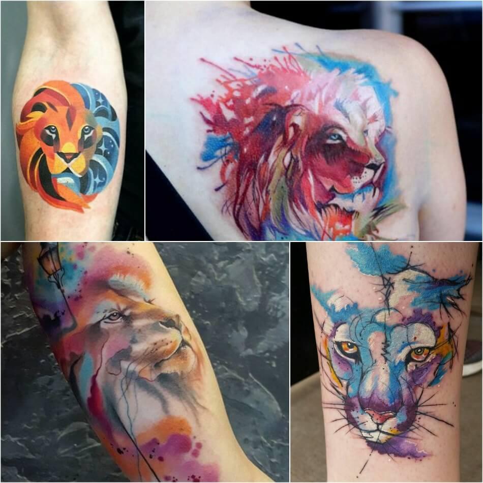 Тату Лев - Значение Тату Лев - Значение татуировки со львом
