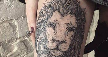 Тату на бедре - Татуировки на бедре - Идеи тату на бедре