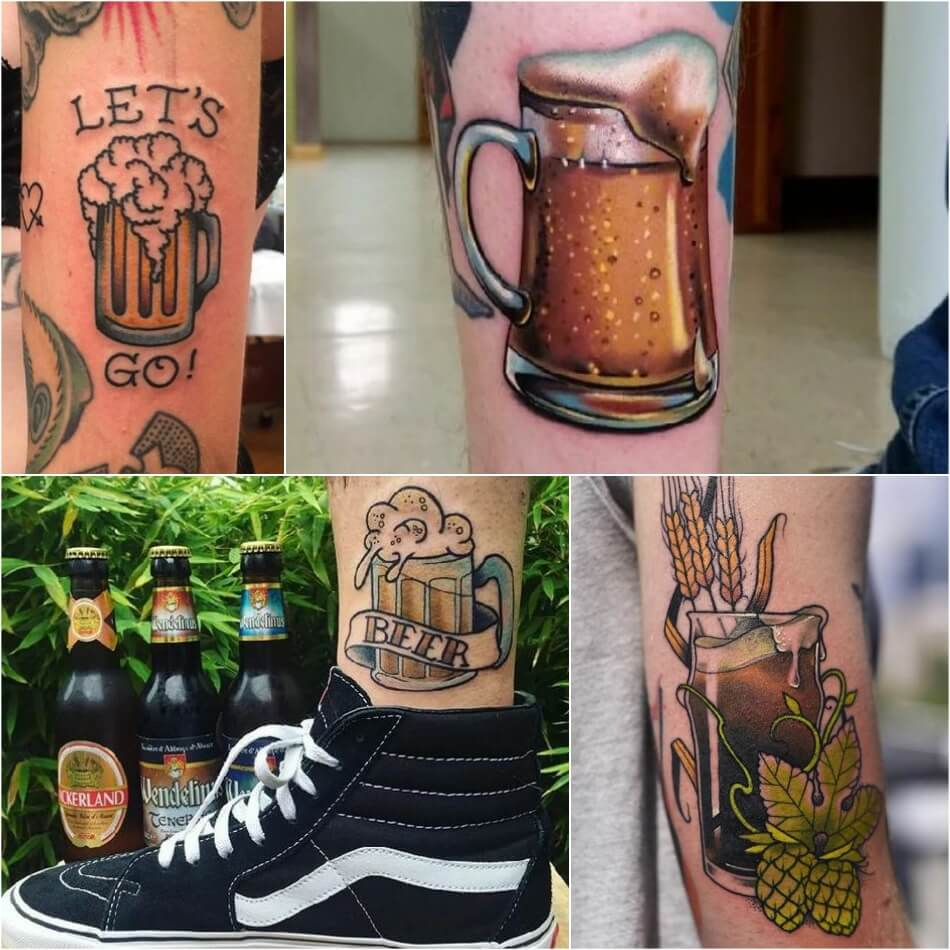 Тату для Бармена - Тату для пивовара