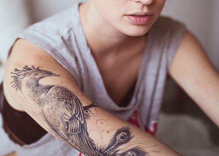 Тату Феникс - Значение Татуировки Феникс - Тату Феникс значение