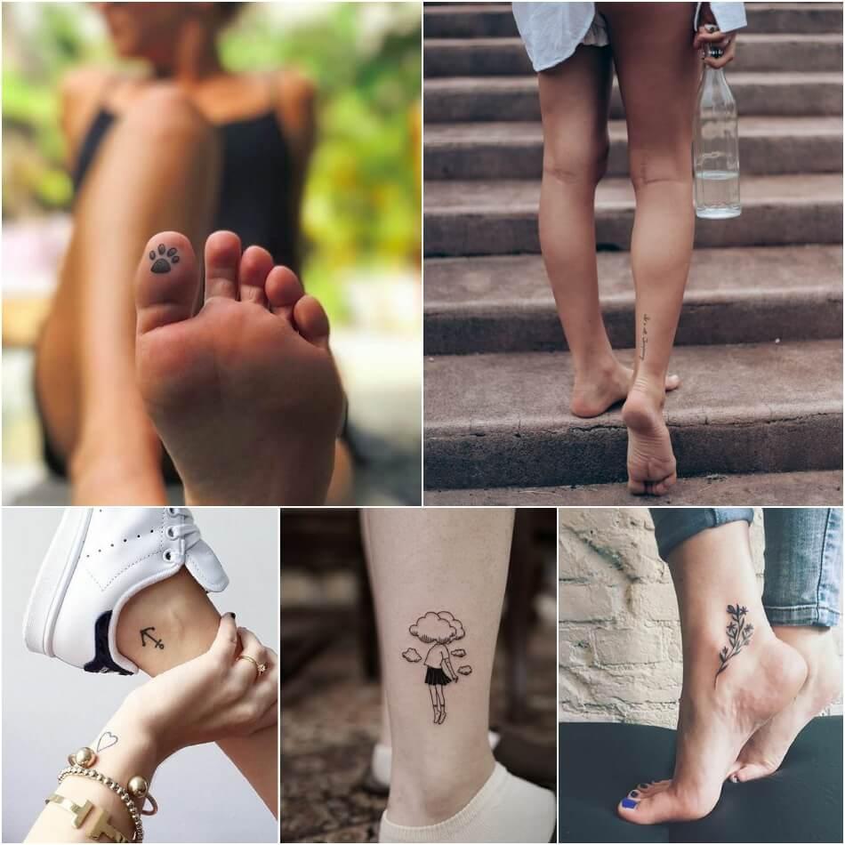 Маленькие тату - Маленькие тату для девушек - Маленькие женские тату