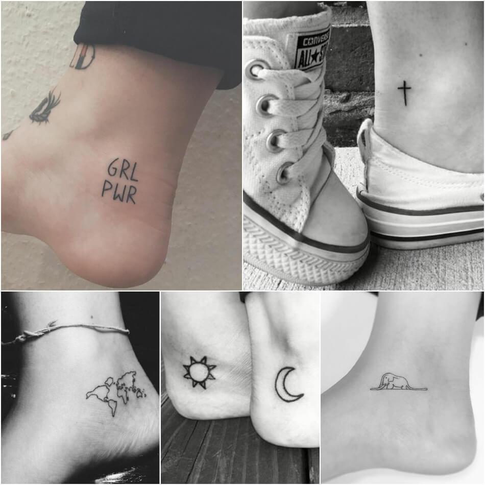Маленькие тату для девушек - Маленькие женские тату