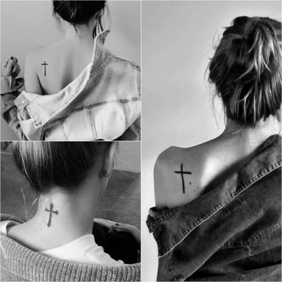 Тату крест - Тату крест для девушки - Тату крест женские