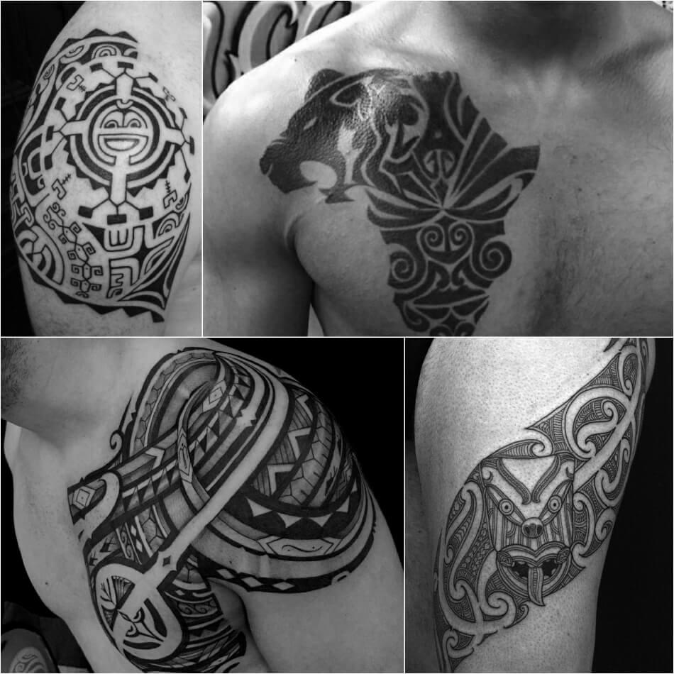 Трайбл тату - Африканские тату - Африканские племенные тату - Африка трайбл