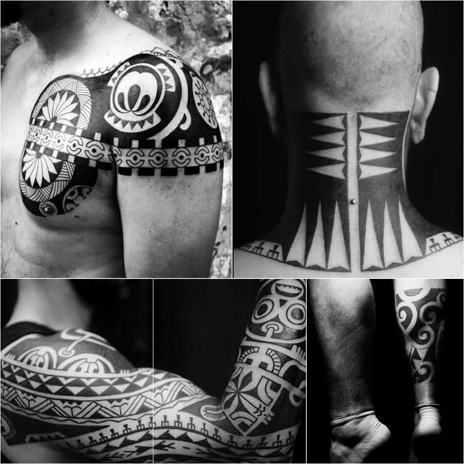 Трайбл тату - Отличительные черты Трайбл тату