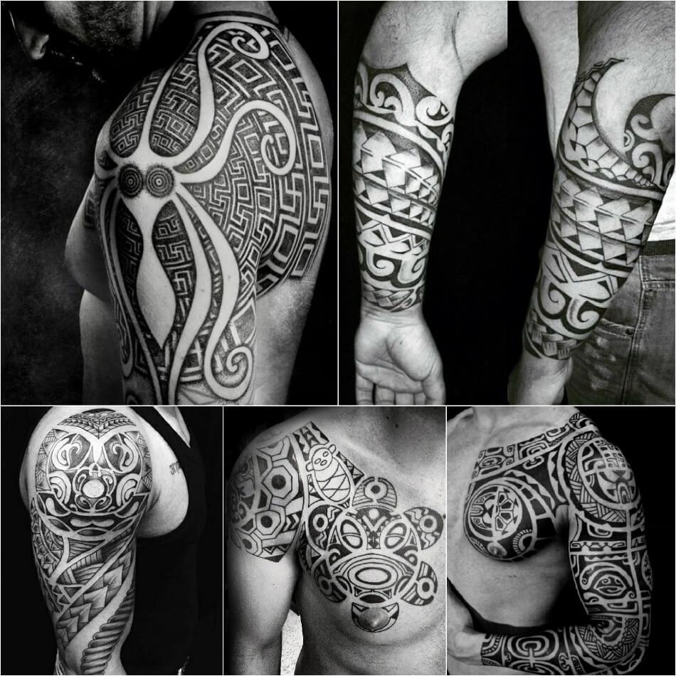 Трайбл тату - Полинезия трайбл - Полинезийкие тату