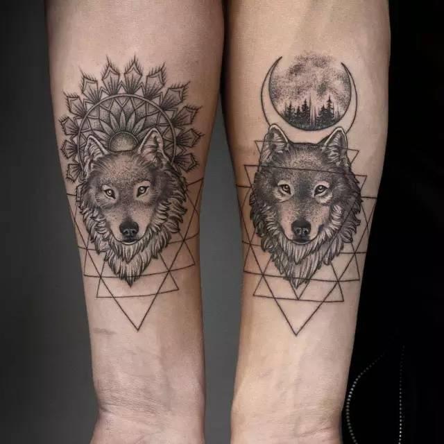 Тату Волк - Татуировка волк - Значение тату с волком