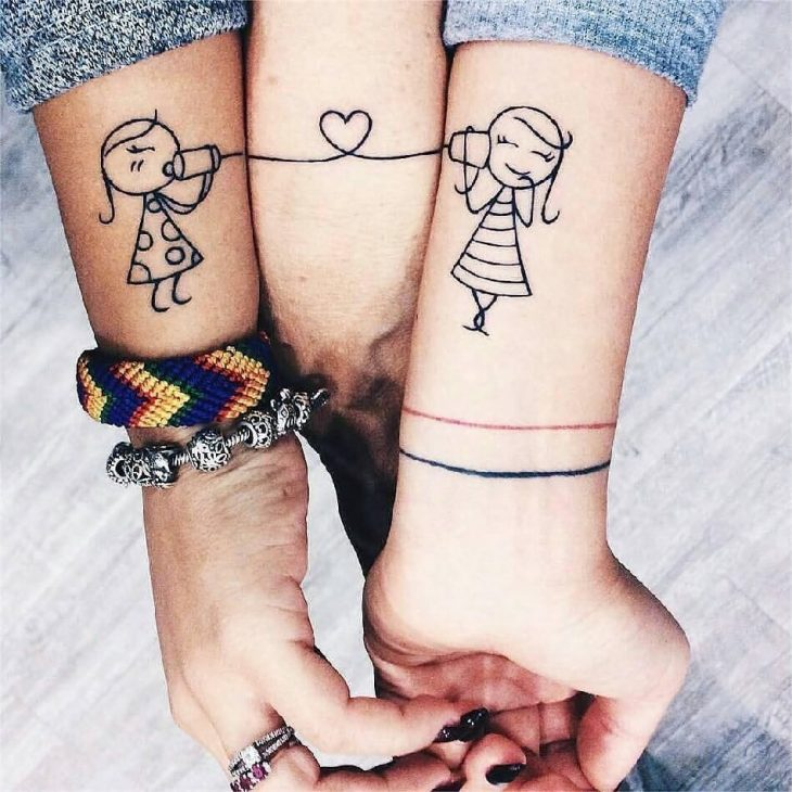 Тату для друзей - Тату для лучших друзей