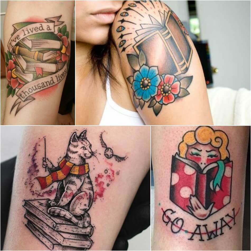 Тату книга - Тату Книги - Тату чтение - Татуировка книга