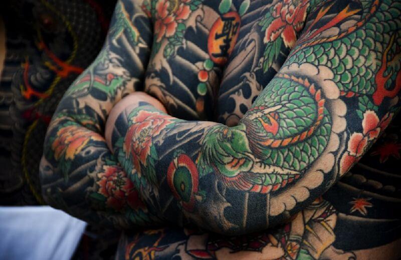 Тату Япония - Тату Японский стиль - Японские тату