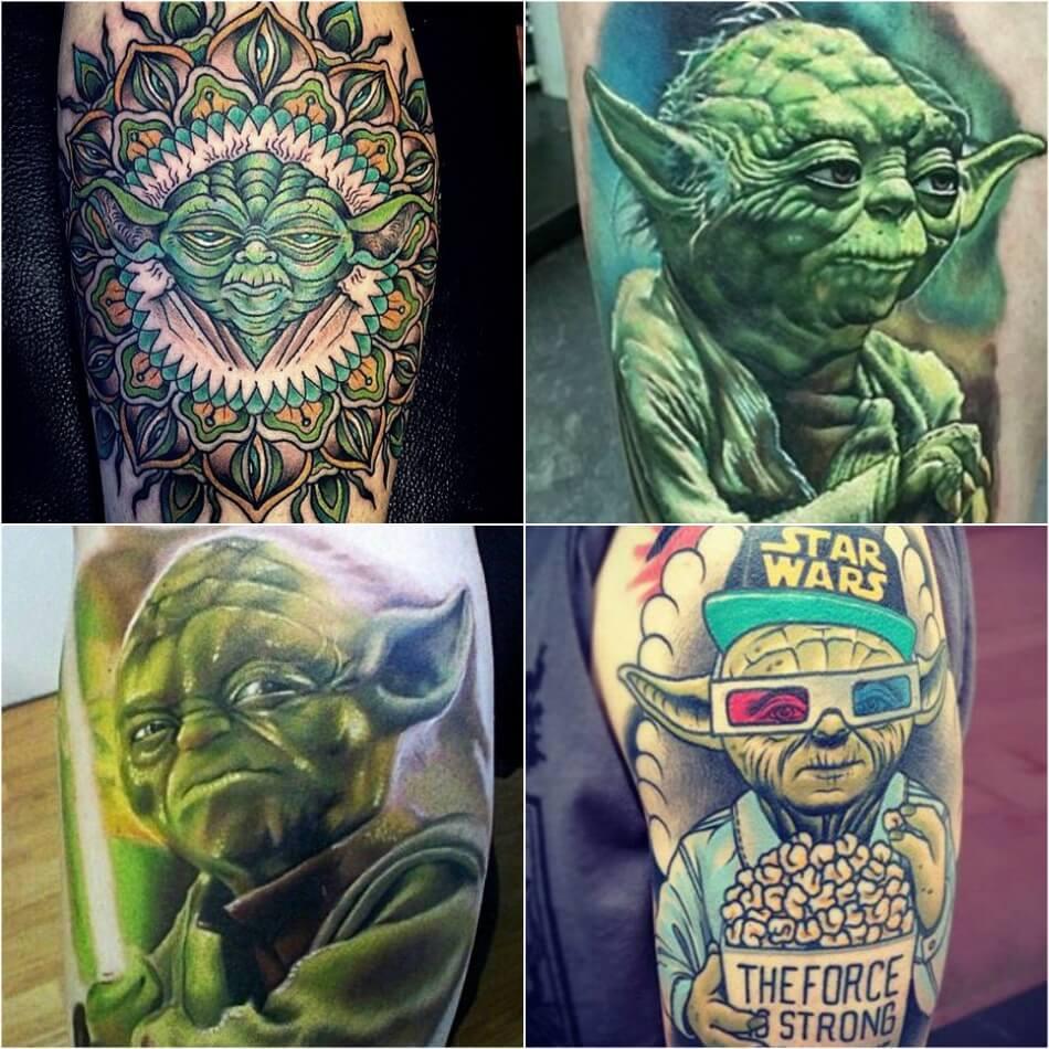 Тату с Героями Кино - Идеи Татуировок для Любителей Кино - Тату Звездные войны