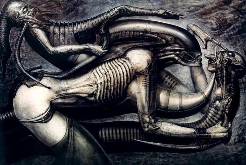 Тату Биомеханика - Татуировка киберпанк - Татуировка биомеханика - Гигер тату