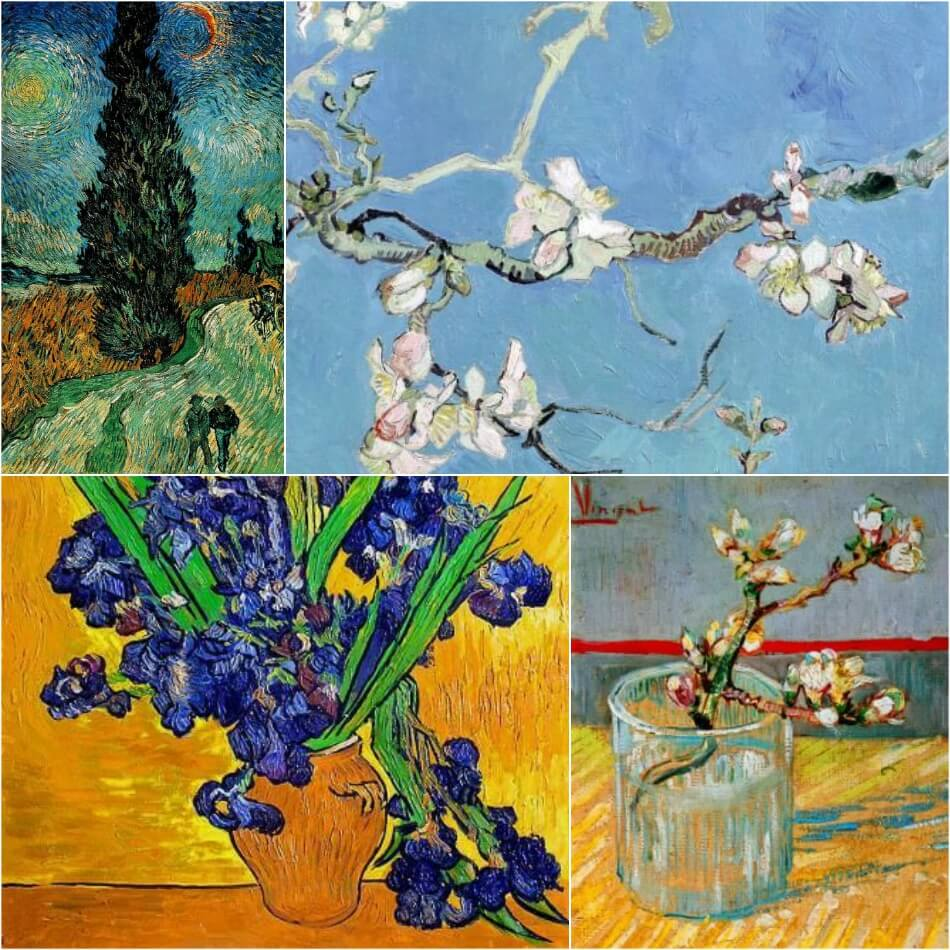 Тату по мотивам картин - Тату живопись - Тату шедевры живописи - Идеи тату Ван Гог