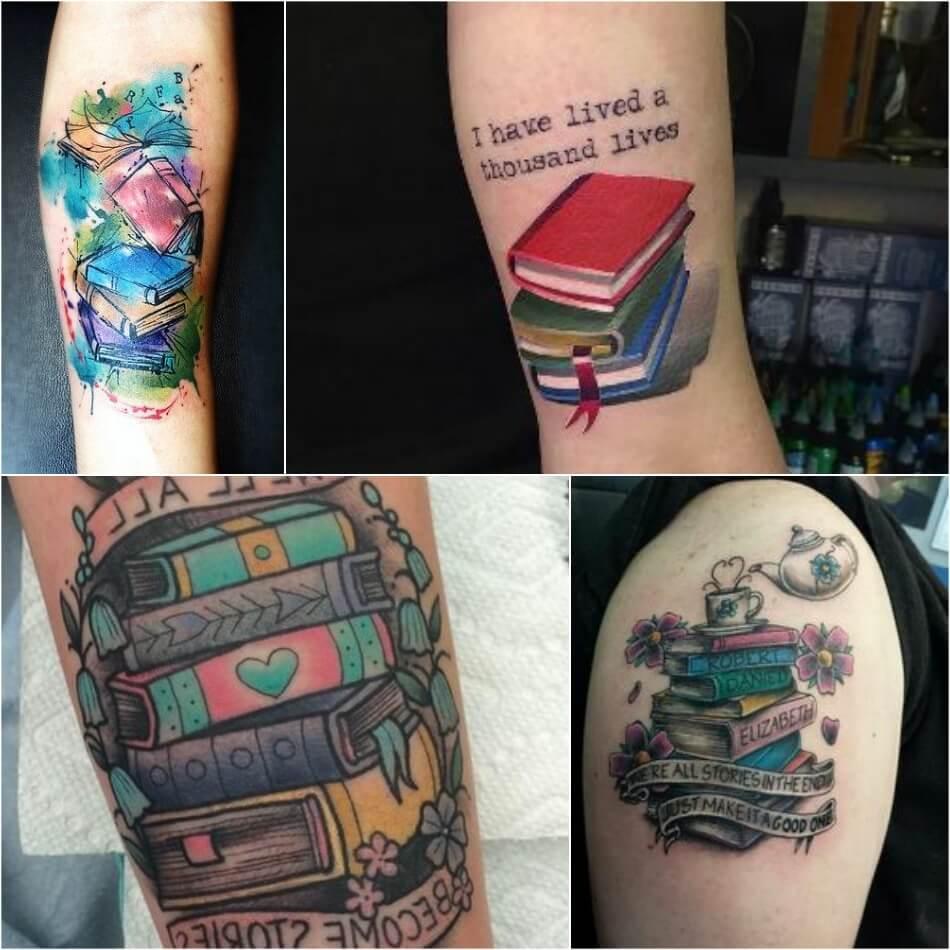 Тату книга - Тату Книги - Тату чтение - Тату книга на руке