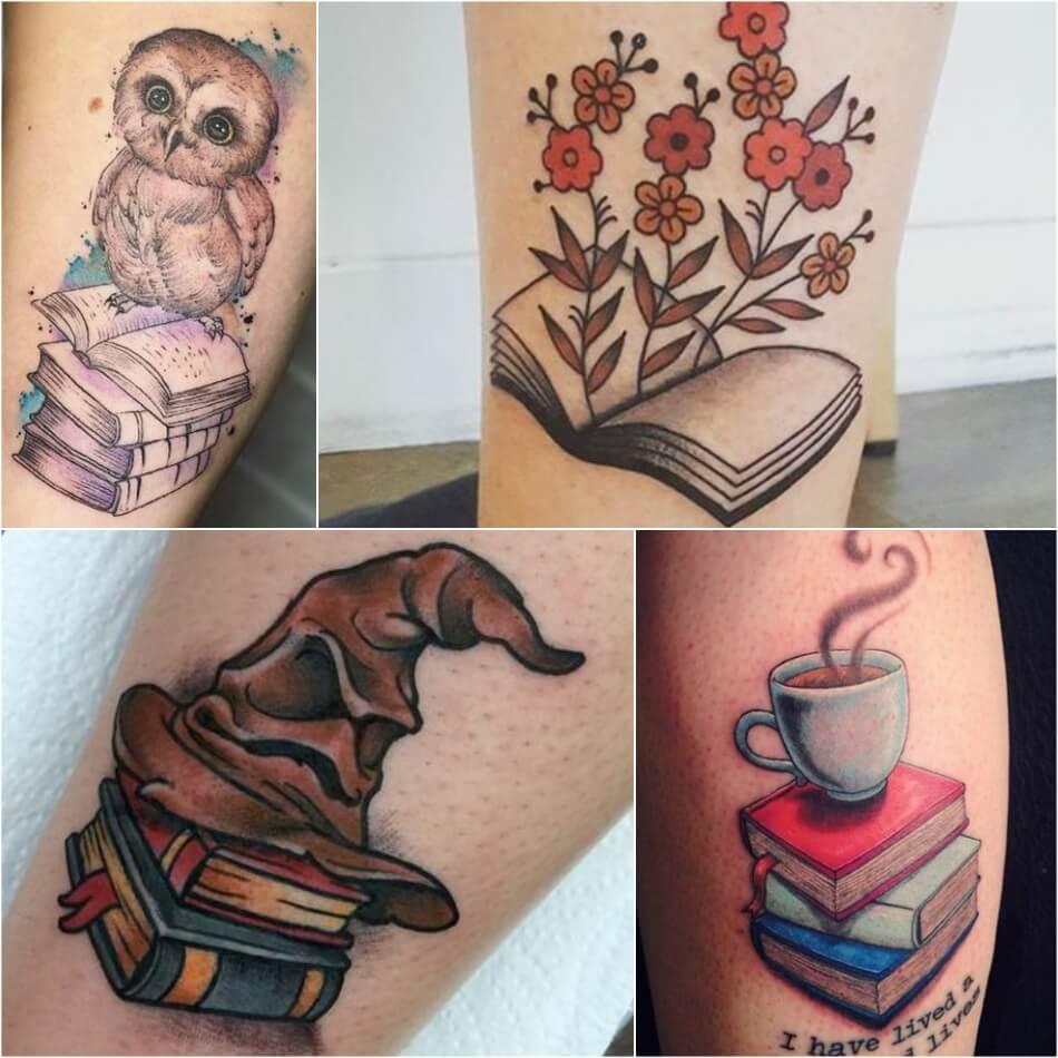 Тату книга - Тату Книги - Тату чтение - Тату книга на ноге