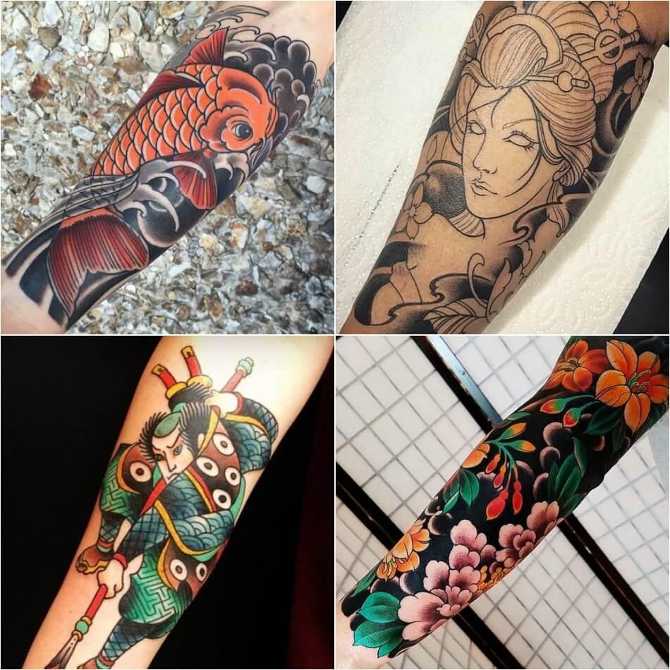 Тату Япония - Тату Японский стиль - Японские тату - Тату Япония мужские