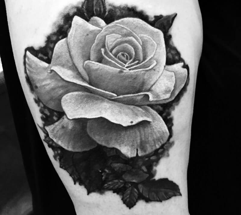 Тату Реализм - Татуировка Реализм - Тату стиль Реализм - Тату реализм цветы