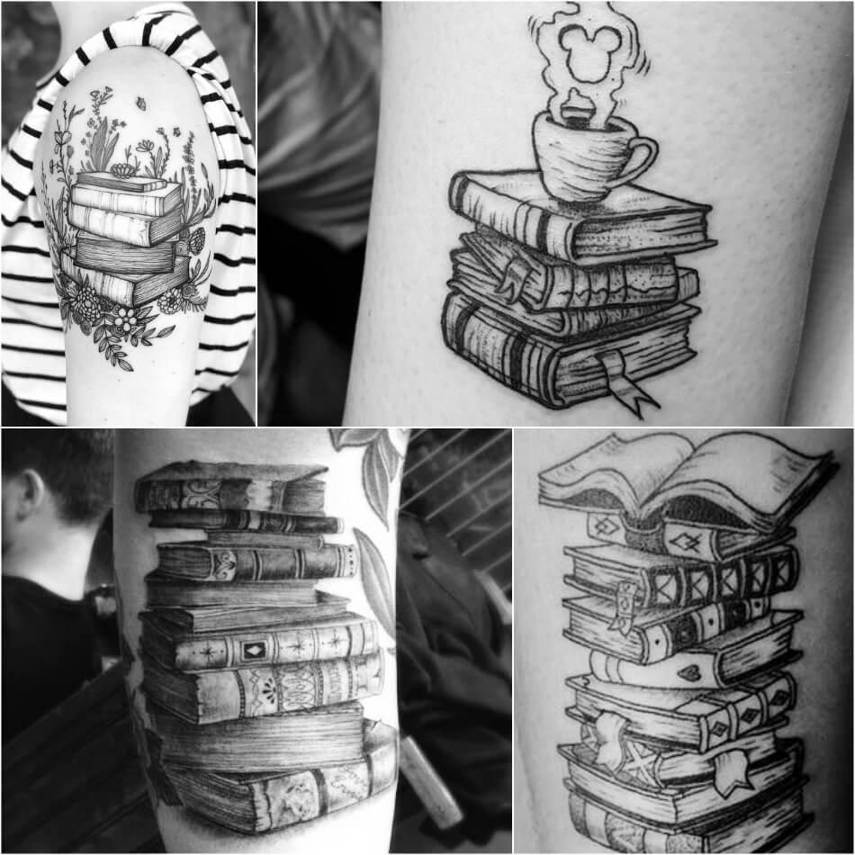 Тату книга - Тату Книги - Тату чтение - Тату книга черно-белое