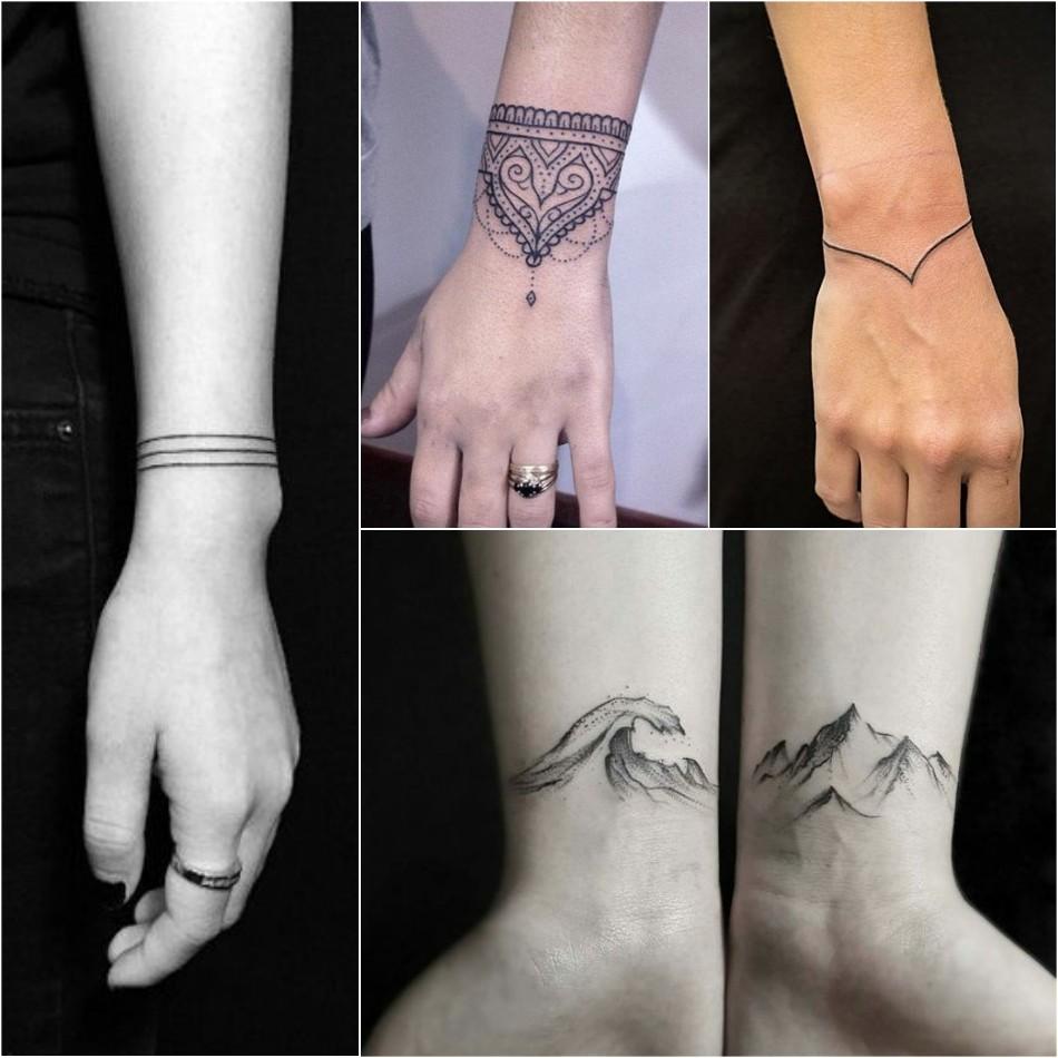Тату на запястье - Татуировка на запястье - Тату на запястье женские