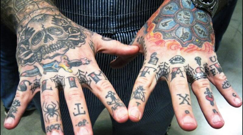 Тату на кисти - Татуировка на кисти - Кисти рук тату - Тату на кисти для мужчин - Мужские тату на кисти