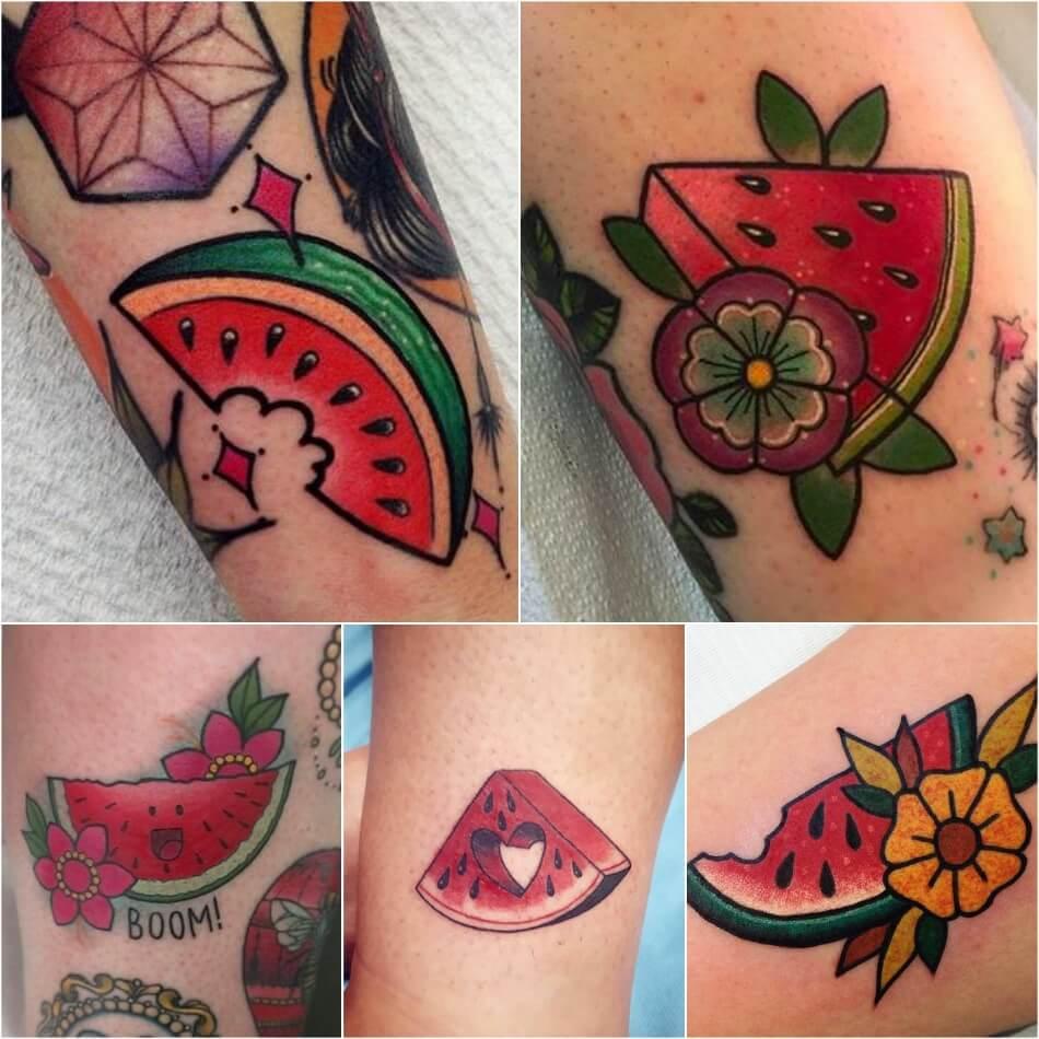 Тату фрукты - Татуировка фрукты - Тату фрукты значение