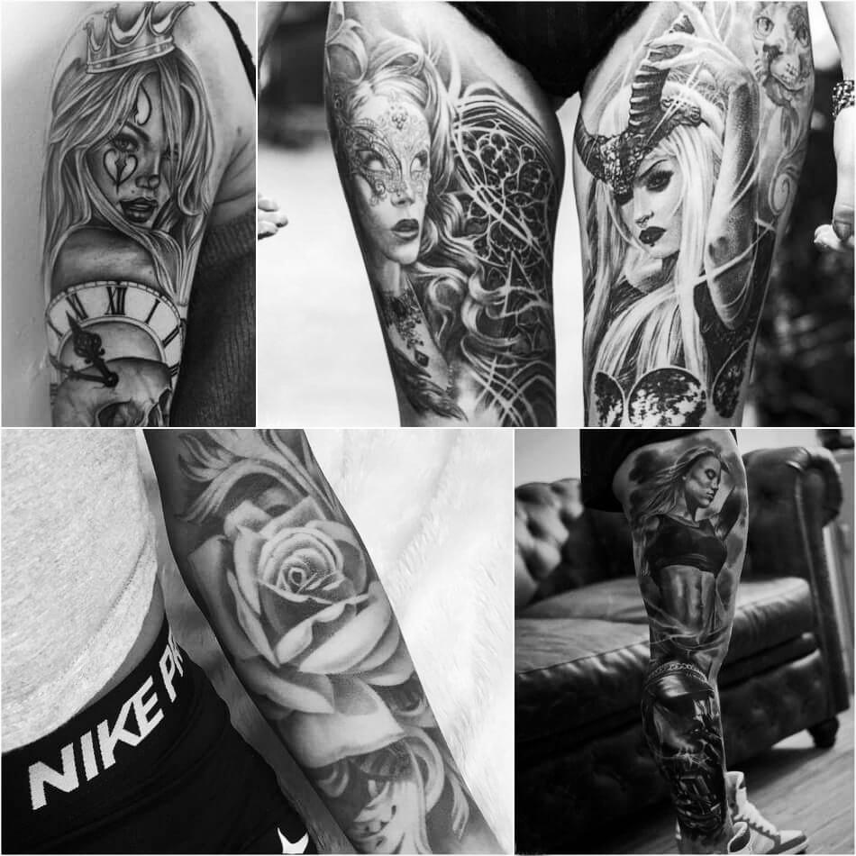 Тату реализм - Татуировки реализм - Женские тату реализм