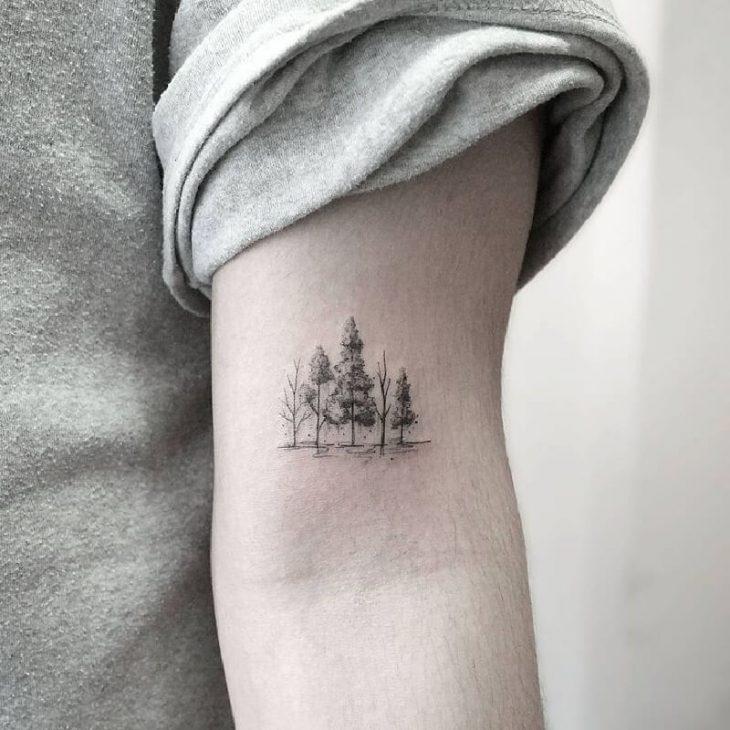 Тату Дерево  - Татуировки с Деревьями для Мужчин и Женщин