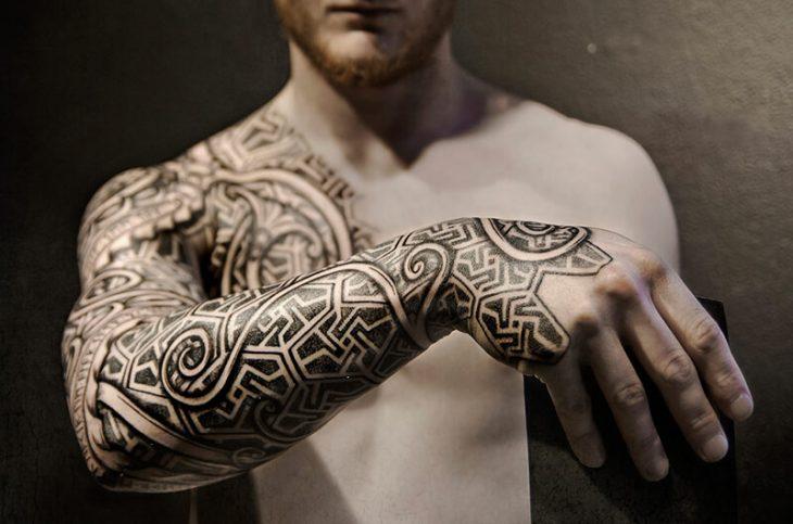 Скандинавские Тату - Татуировки Викингов
