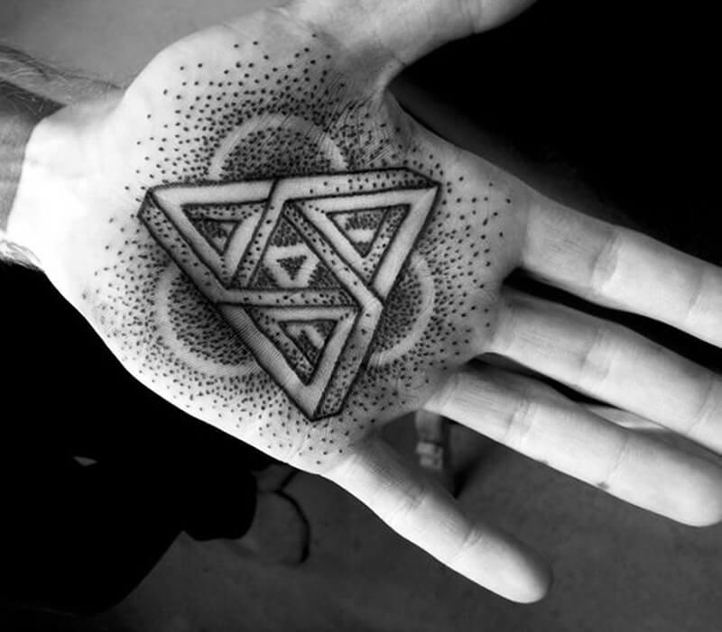 Тату геометрия - Геометрические тату - Татуировка геометрия