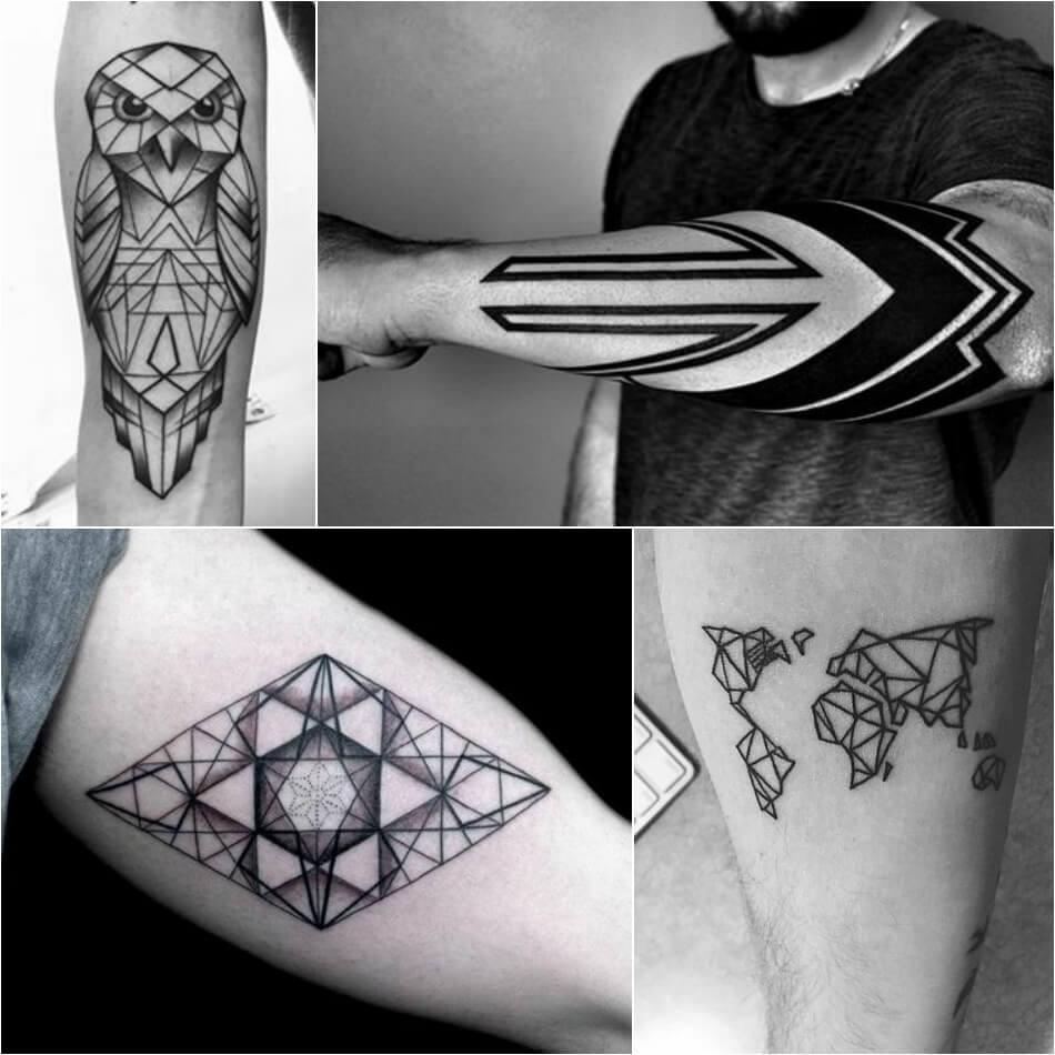 Тату геометрия - Геометрические тату - Татуировка геометрия - Тату геометрия мужские