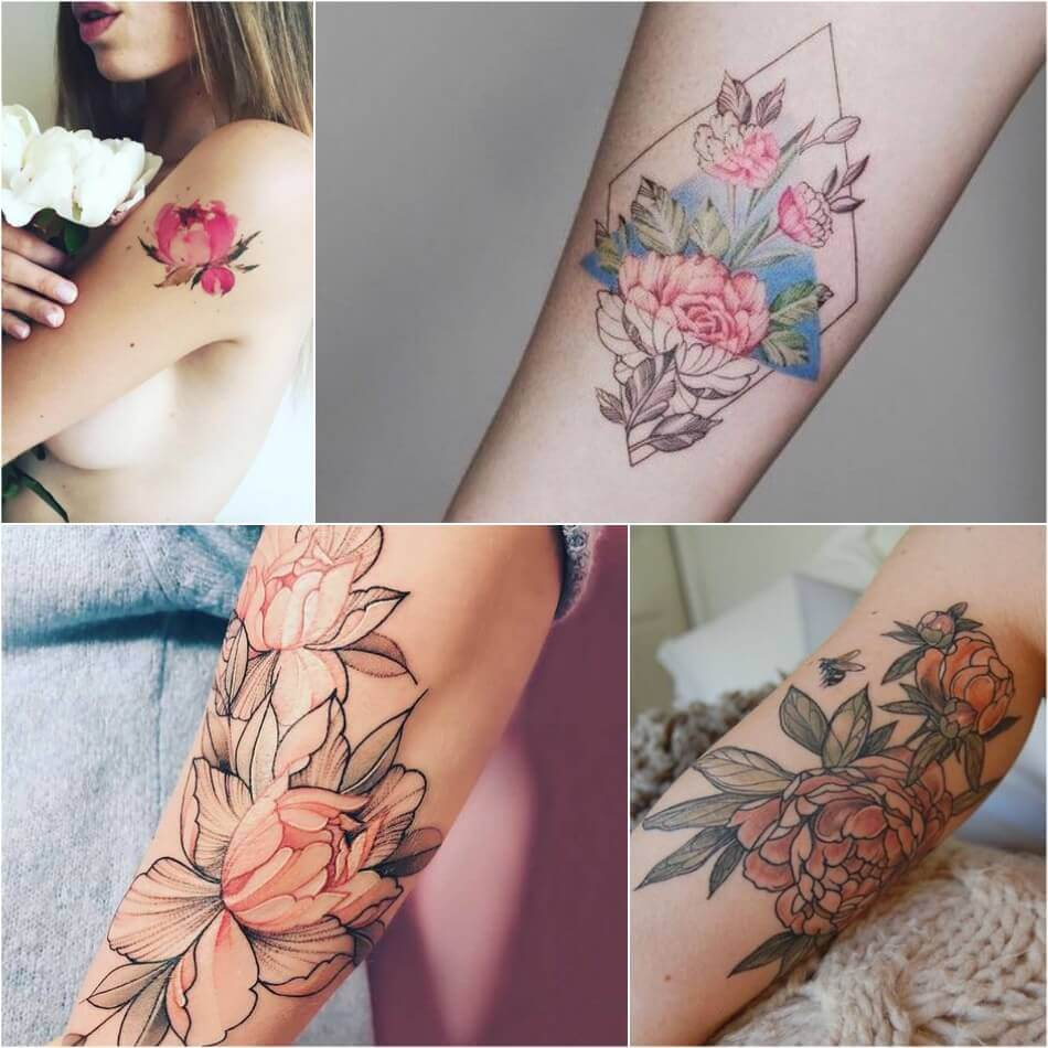 Тату цветы значение - Тату цветы - Татуировка цветы