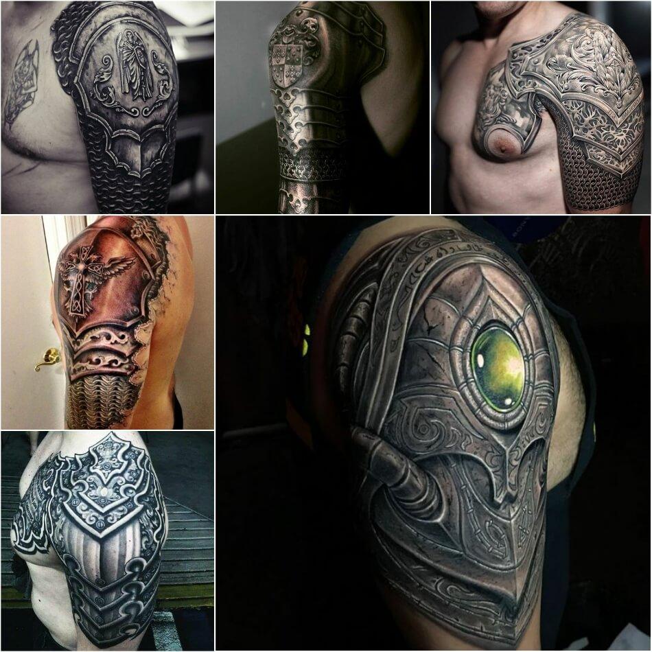 Мужские тату на руке - Мужские тату на плече - Мужские татуировки на плече