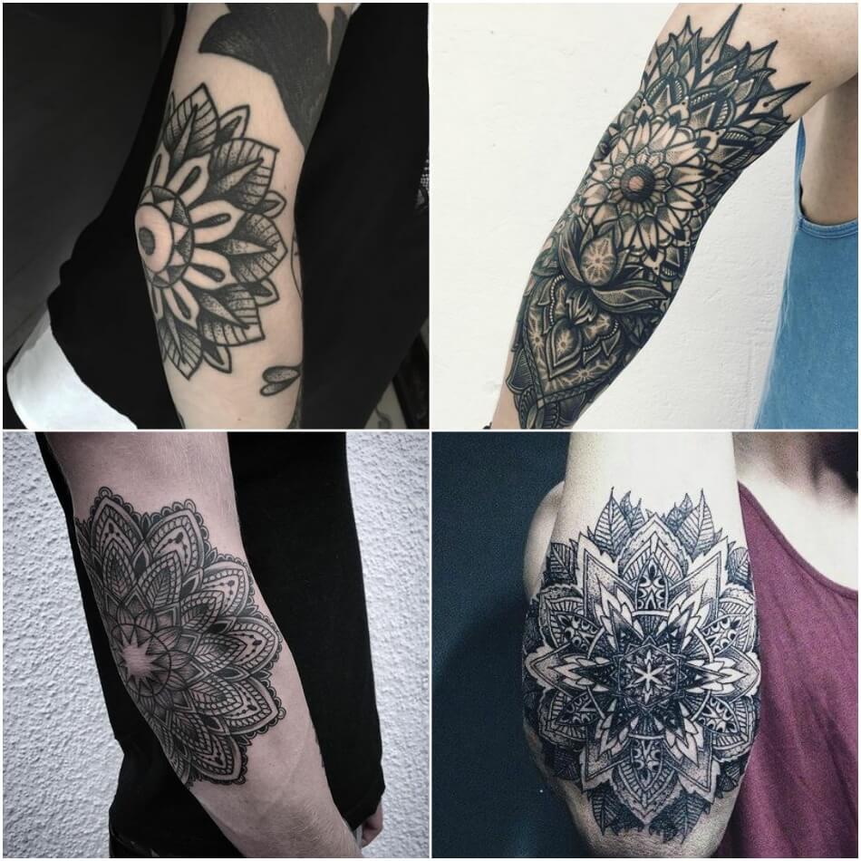 Мужские тату на руке - Мужские татуировки на руке - Мужские тату на локте
