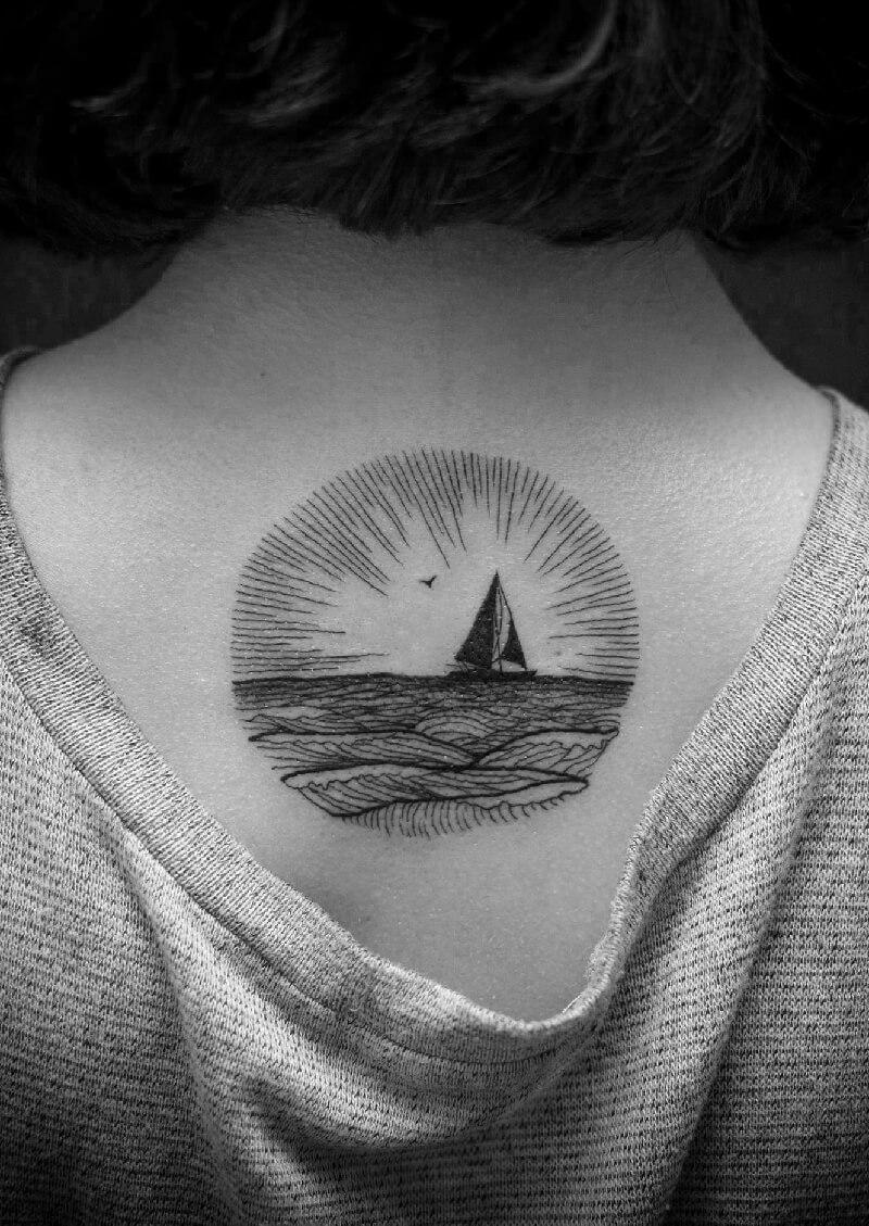 Тату море - Черно-Белые Тату Море - Тату море чб