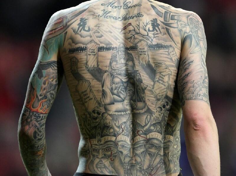 Тату на спине - Татуировка на спине - Больно ли тату на спине