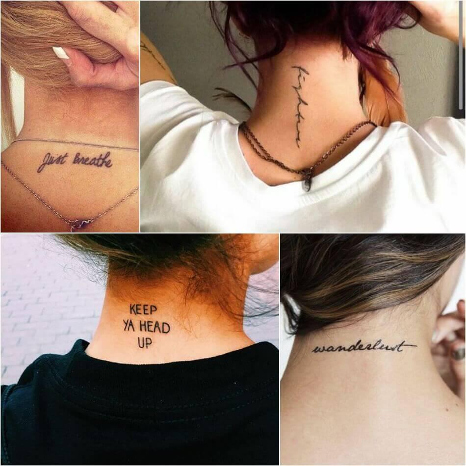 Тату надпись для девушек - тату надпись для девушек на английском