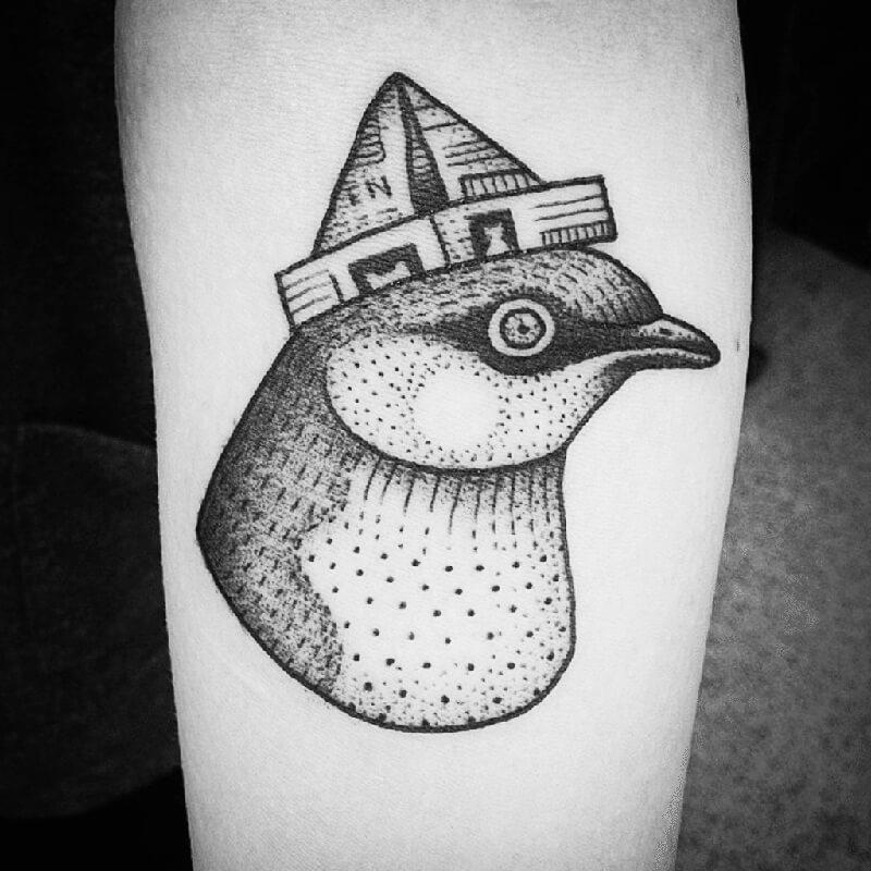 Тату птицы - Татуировка Птицы - Тату Птица