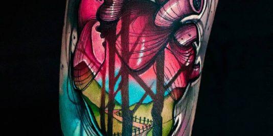 Тату сердце - татуировки сердце