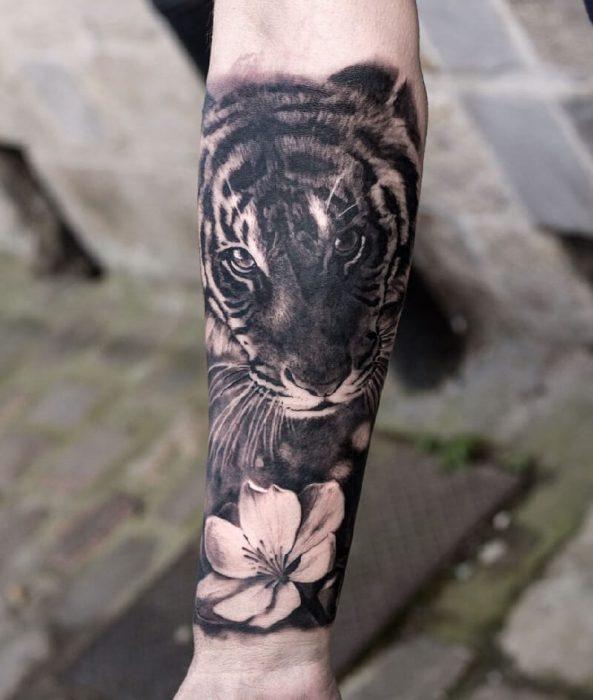 Тату тигр - Татуировка тигр - Значение тату тигр