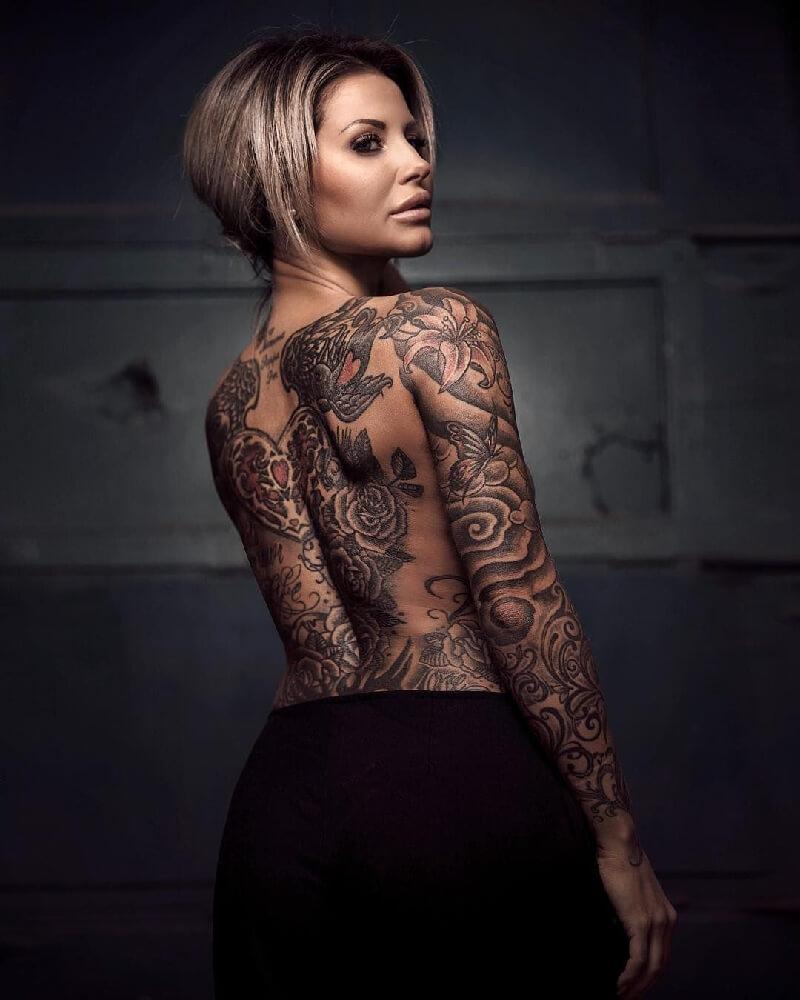 Девушки с тату - красивые женщины с тату - татуировки для женщин - сексуальные тату