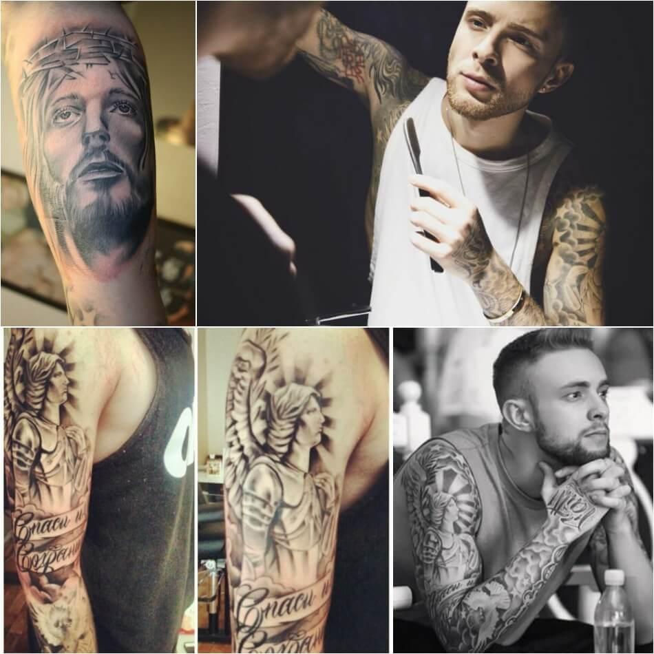Тату Крида - татуировки Егора Крида - Тату Егора Крида на Руке