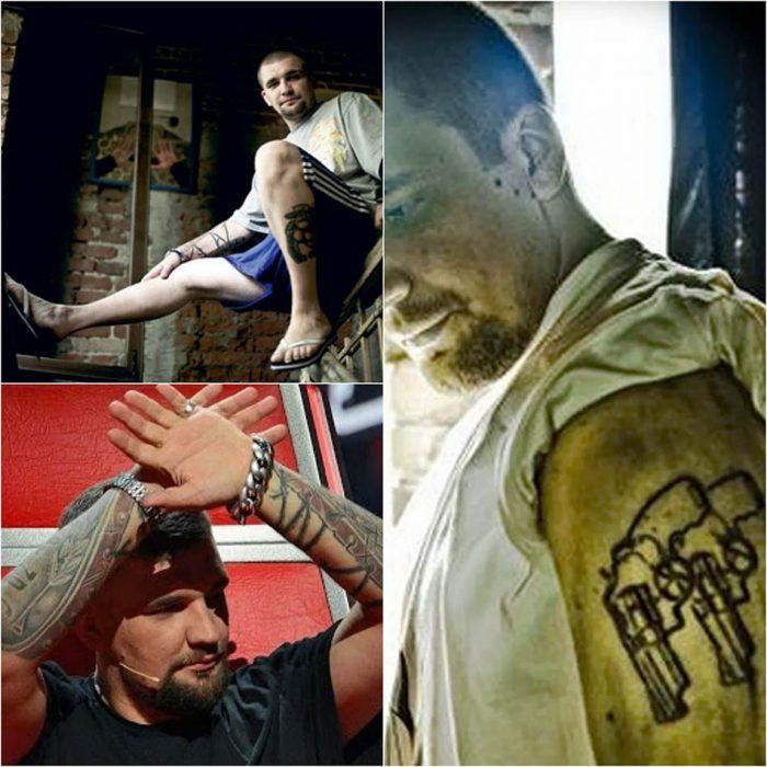 тату басты - татуировки басты - тату басты на руках - тату басты надписи