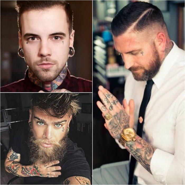 тату на лице -мужские тату на лице - тату на лице для мужчин - мужские татуировки на лице