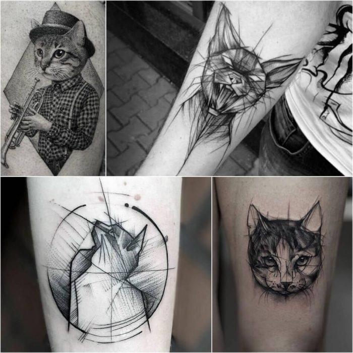 тату с животными - Tatu-kot-Tatu-kot-geometriya-Tatuirovka-koshka-geometriyaтату с животными - Tatu-kot-Tatu-kot-geometriya-Tatuirovka-koshka-geometriya
