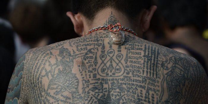 тату сак янт -татуировки сак янт - тайские тату - магические тату сак янт - тату буддистов