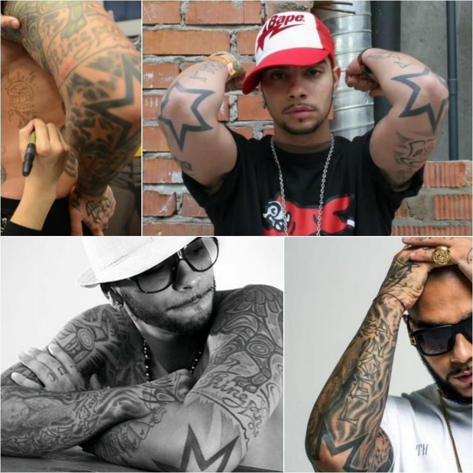Татуировки Тимати посвящены общим человеческим ценностям: дружбе, верности, семье и...