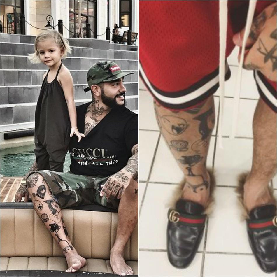 тату тимати - тату тимати на ногах - новые тату тимати