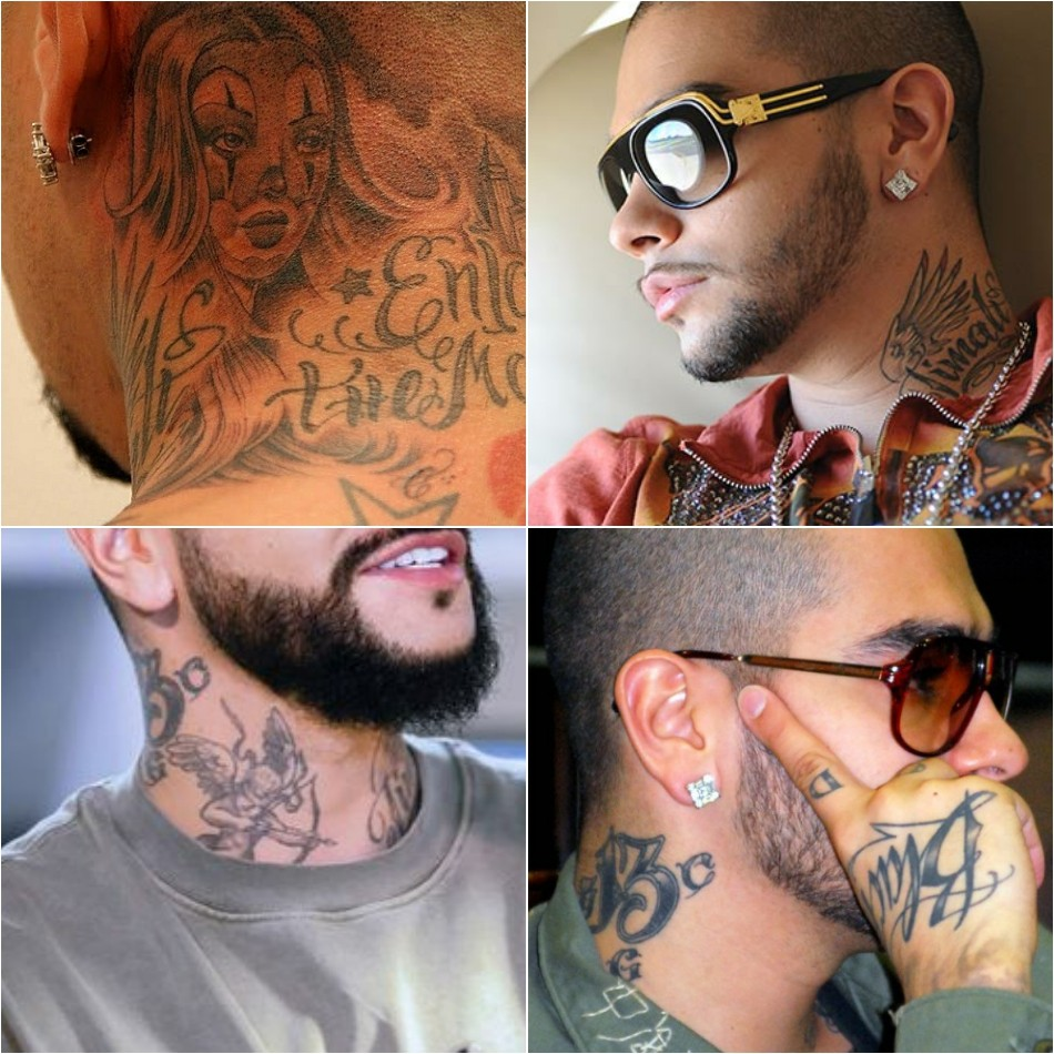 тату тимати - тату тимати на шее - татуировки тимати на шее